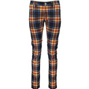 VERSACE Versus Tartan Print Stretch Denim Cotton Skinny Jeans Trousers W32 NEW